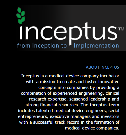 Inceptus Announces Completion Of Series A Financing For Inari Medical